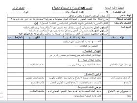 منصة عمر التعليمية | تحضير الوحدة الثانية في اللغة العربية (السمكة والحرية) للصف الرابع الفصل الأول