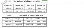 منصة عمر التعليمية | مفردات اللغة الانجليزية للصف الخامس الفصل الثاني