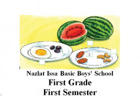 منصة عمر التعليمية   كراسة خط للغة الإنجليزية للصف الأول الفصل الأول