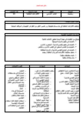 منصة عمر التعليمية | تحضير بالمخرجات  لمادة الرياضيات للصف العاشر -الفصل الثاني